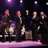 Konzert ehemaliger Weggefährten von Elvis Presley in der Stadthalle Maxhütte-Haidhof. Bild: Götz